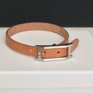 Hermes NWOT Behapi Simple Tour Leather Bracelet